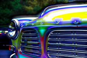 Psychadelic Volvo