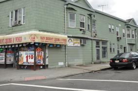 A liquor store,