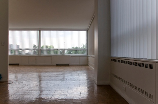 an empty apartment