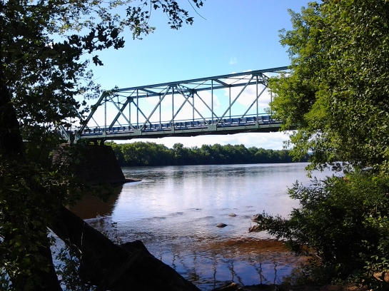Bridge over Delaware River.