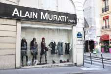 A wholesaler's show room on the corner of rue Saint-Phillippe and rue Aboukir.
