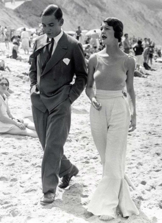 Couple Biarritz 1933