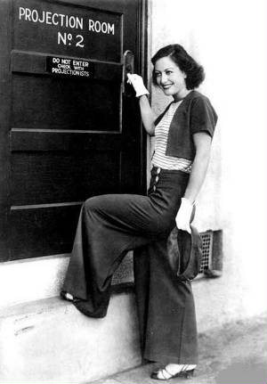 Joan Crawford Vintage Pants