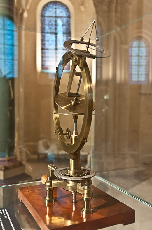 One of the scientific instruments on display.